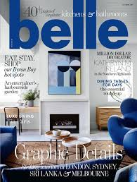 Home Design Magazines Australia by Belle Magazine Subscription Magshop