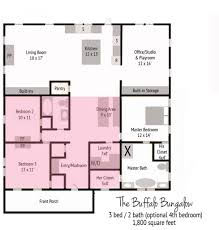 house plan final buffalo bungalow floor with existing 978x1024