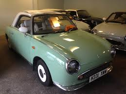 nissan green nissan figaro in mint green u2013 bookham autos