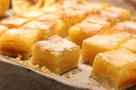 cuisiner quelqu un carrés au citron pour ceux qui aiment cuisiner