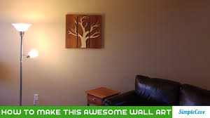 and curly maple 3 panel wall art youtube