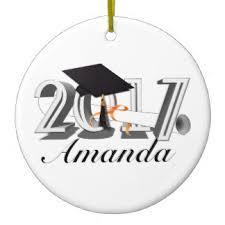 graduation 2017 ornaments keepsake ornaments zazzle