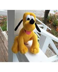 deal small pluto plushie mickey mouse dog pluto disney