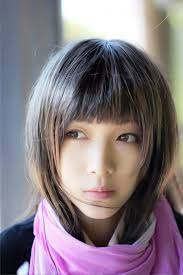 pictures of cute short asian bob haircut with blunt bangs women
