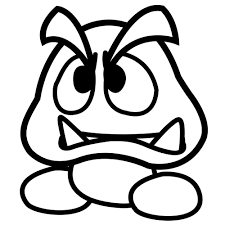 ideas collection paper mario coloring pages on example