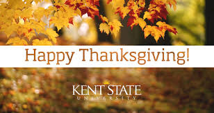 a thanksgiving message from kent state president beverly