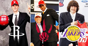 re drafting the first round of the terrible 2006 nba draft
