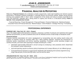 Example Of A Resume For A Job by Examples Of A Good Resume 1 Edgar Has Classically Formatted Which