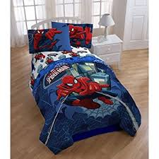 amazon black friday bedding amazon com marvel ultimate spiderman twin comforter u0026 sheet