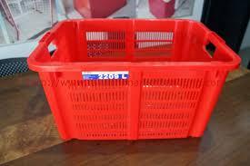 Jual Keranjang Container Plastik Bekas rak minimarket bandung rak toko jawa barat jual rak minimarket
