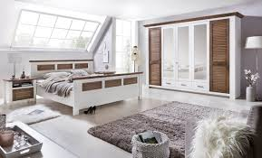 Schlafzimmer Komplett Nussbaum Schlafzimmer Komplett 4 Teilig Kiefer Landhaus Weiss Modell