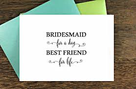 asking bridesmaids cards bridesmaid cards of honor cards
