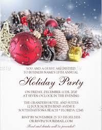 christmas party invitation template 23 business invitation templates free sle exle format