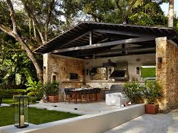 covered outdoor living spaces outdoor kitchen designing the perfect backyard cooking station