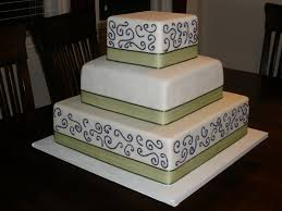 green and purple wedding cakes jpg