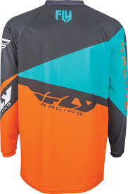 motocross bike gear 2017 fly racing f 16 jersey mx atv motocross off road dirt bike
