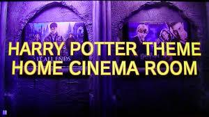 Harry Potter Home Harry Potter Cinema Room Youtube