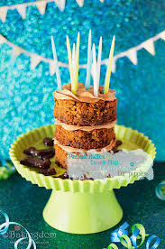 peanut butter carob chip carrot cake for dogs