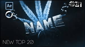 top 20 free intro templates 31 cinema 4d adobe after