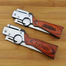 personalized knives groomsmen personalized knife gun knife with led pocket knife engraved