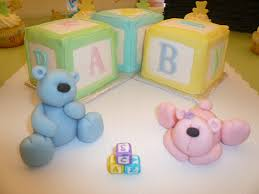 baby shower block cakes and cupcakes cakecentral com