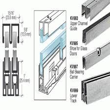 Glass Cabinet Door Hardware Sliding Cabinet Door Hardware Track Stunning Sliding Kitchen