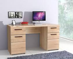Schreibtisch 60 Cm Breit Combino 146 Cm 2 Trg 2 Schub Sonoma Eiche Von Forte