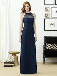 halter bridesmaid dresses dessy collection 2953 lace halter bridesmaid gown novelty