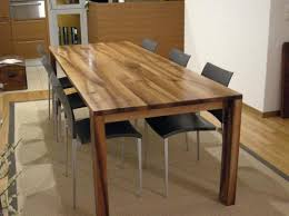 plan table de cuisine table cuisine bois massif affordable cuisine bois massif with