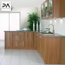 kitchen sink and cabinet unit wholesale modern wood finished l shaped kitchen cabinet unit
