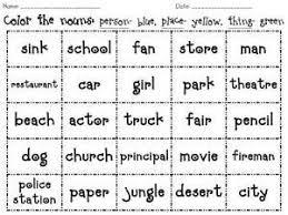 42 best first grade grammar images on pinterest common