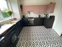 painting kitchen cabinets frenchic quoted 10k for a new kitchen does it herself for just