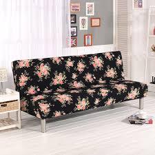 housse canapé noir pliage canapé couvre élastique aucun re canapé couvre canapé