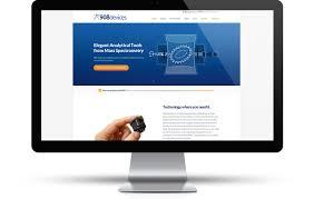 website homepage design 908 devices metropolis creative