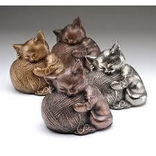 cat urn cat urns playful kitten of yarn