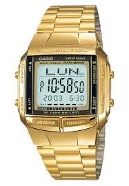 Jam Tangan Casio Gold jual casio casio digital jam tangan wanita gold rantai db 360g