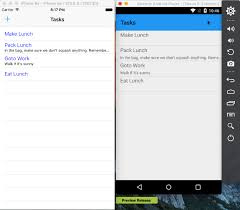 xamarin android xamarin android list views and mvvm light