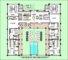 home plans with pools floor plan pool architectural style farmhouse bar layout home plan