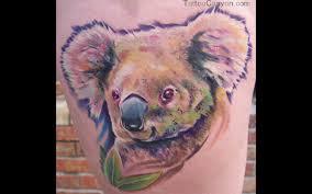 Off The Map Tattoo 11065 Off The Map Tattoo Tattoos Color Koala Tattoo Design