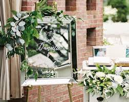 Wedding Program Chalkboard Hand Painted Wedding Program Reception Timeline Please Read