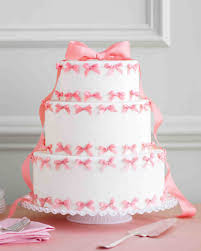 pink and red wedding cakes martha stewart weddings
