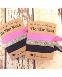 bridesmaid favors amazing deal on bridesmaid gift hair ties thank you for helping