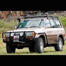 toyota land cruiser arb arb side rail without flares for toyota land cruiser 80 series