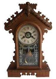jacot u0027s regulator mantel clock chairish