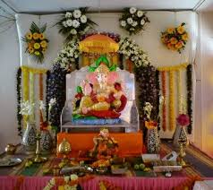 hindu decorations for home inspiring picture of ganpati makar decoration ideas temple