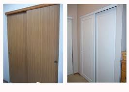 Cheap Closet Doors Closet Door Makeover On The Cheap Great Inexpensive Way To Dress