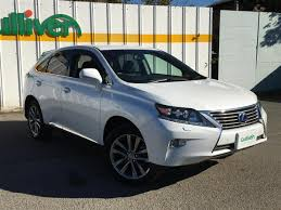 lexus harrier 2013 2013 lexus rx 450h l version used car for sale at gulliver new