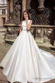 wedding dresses with long trains 2017 high cut wedding dresses