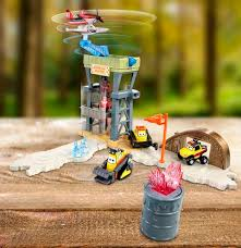 disney planes fire rescue air attack training playset target
