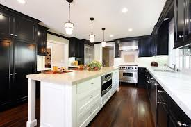 kitchen wood flooring ideas wood flooring ideas kitchen traditional with black cabinets